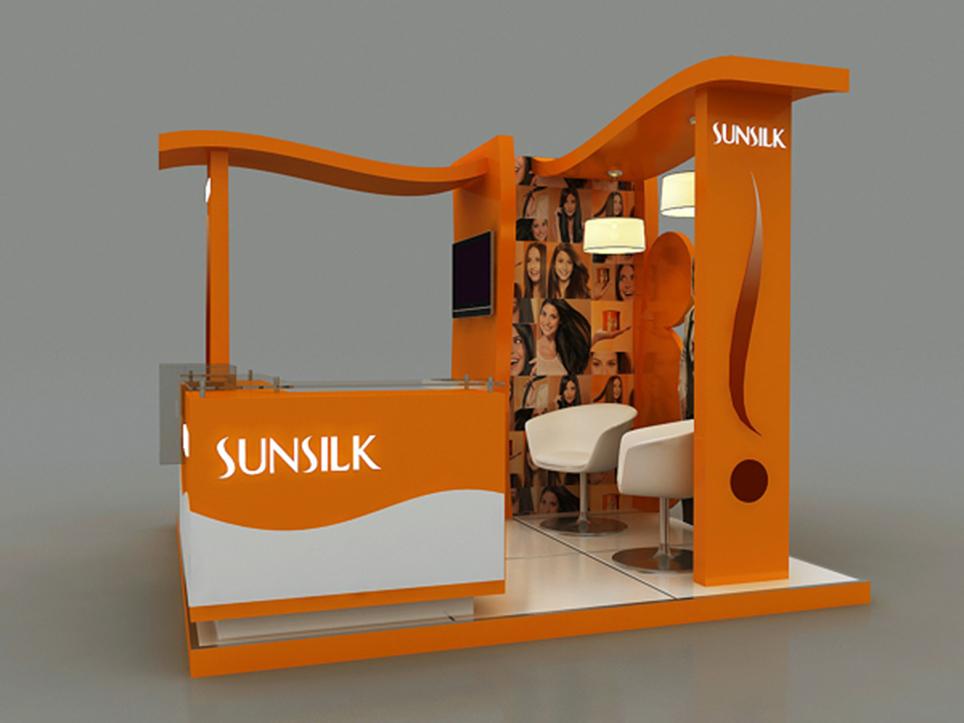 thiết kế sản xuất booth quảng cáo