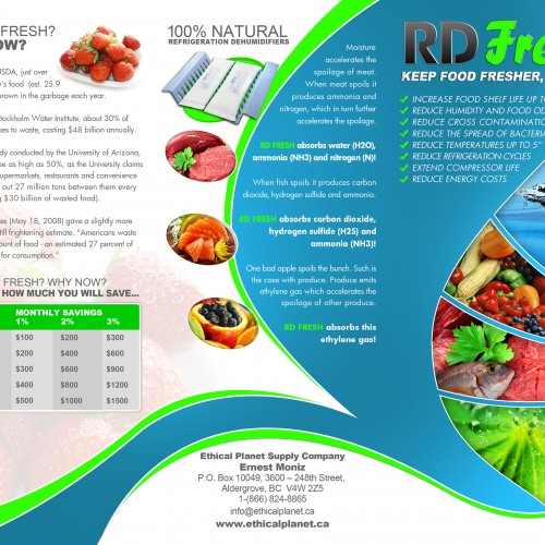 """8.5""""x11"""" Front Trifold Template"""