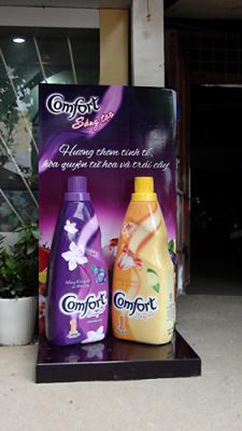 Sản xuất posm, kệ trưng bày & vật phẩm quảng cáo