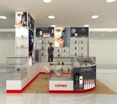 Thiết kế & thi công tủ trưng bày mỹ phẩm
