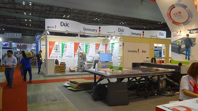 thiết kế & thi công gian hàng hội chợ triển lãm