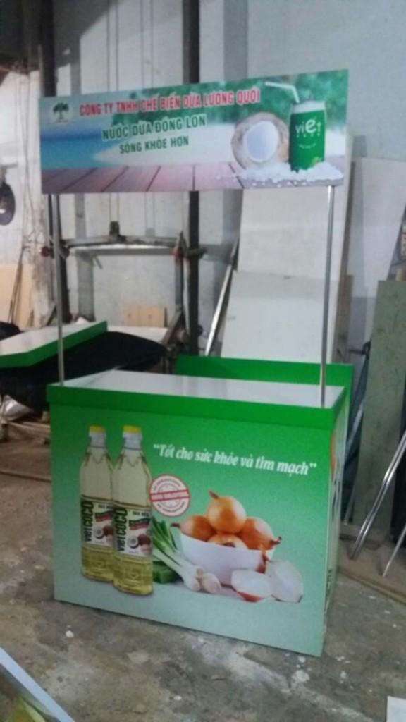 Booth bán hàng di động tại tphcm