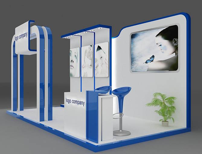 Booth quảng cáo, phương tiện truyền thông hiệu quả01